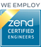 We Employ Zend Certified Engineers
